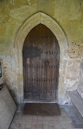 Chattisham porch