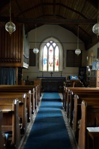 Holton St Mary interior