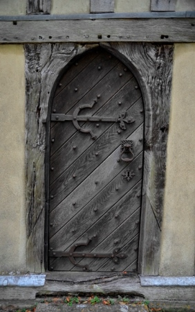 Crowfield door