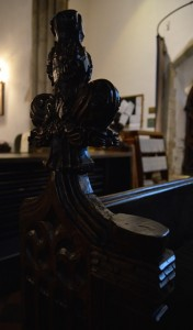 Rougham bench end