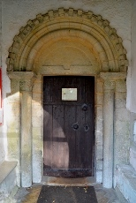 Little Saxham door