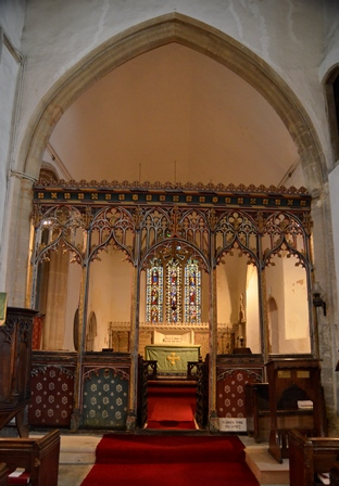 Hessett rood screen