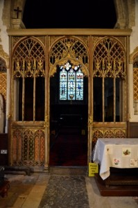 Risby rood screen