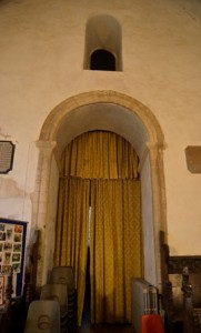 Risby tower arch