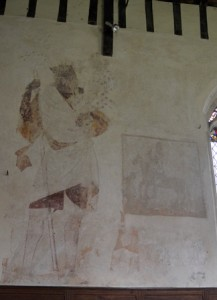 Troston wall painting