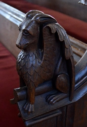 Woolpit bench end 2