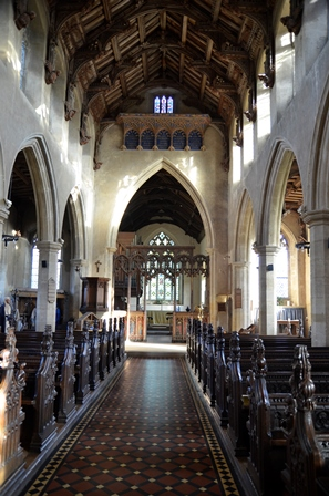 Woolpit interior