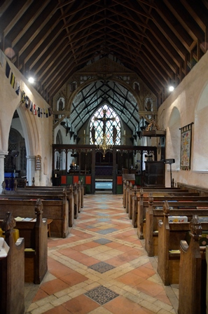 Barsham interior