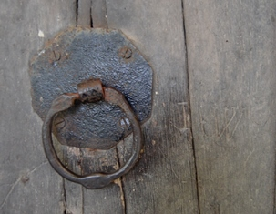 Gisleham door handle