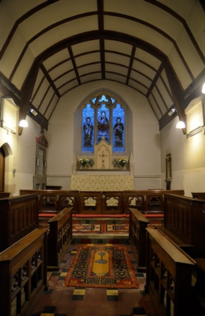 Ringsfield chancel