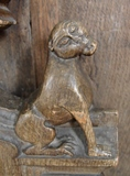 BaBarningham bench end 4