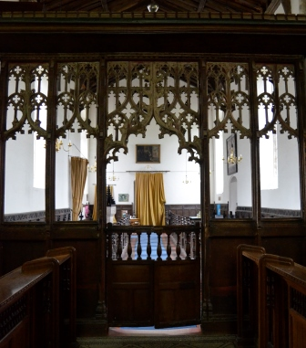 Barningham rood screen