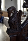 Wetherden bench end 5