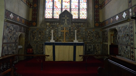 Great Waldingfield altar