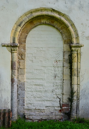 Horham Norman doorway