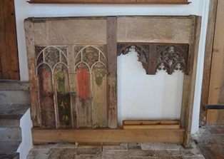 Metfield rood screen