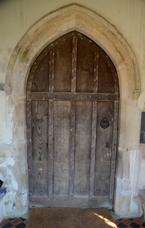 St James door
