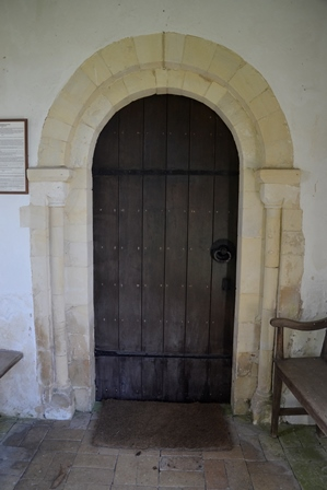 St Peter South Elmham door
