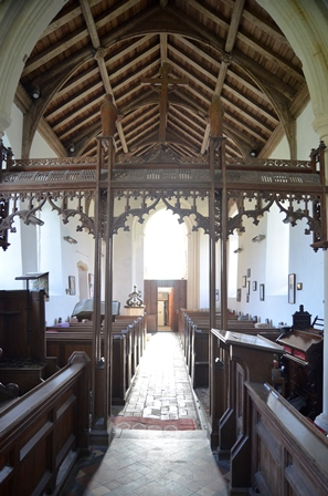 St Peter South Elmham interior 2