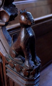 Earl Soham bench end 2