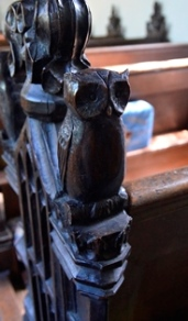 Earl Soham bench end