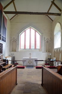 Old Newton chancel