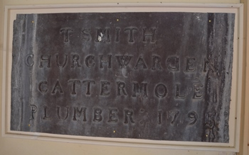Mettingham plaque