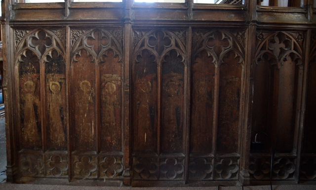 Blundeston rood screen