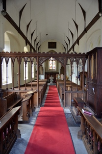 Brampton rood screen