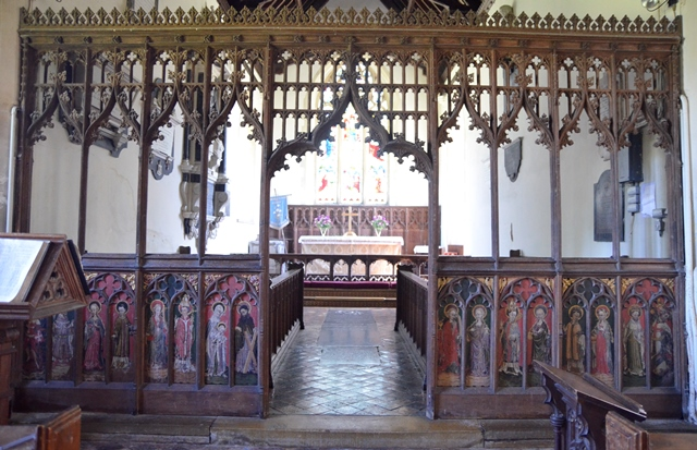 Somerleyton rood screen 2