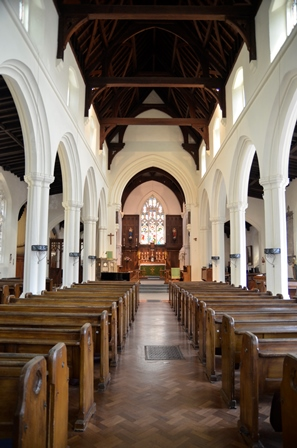 Newmarket St Mary's interior