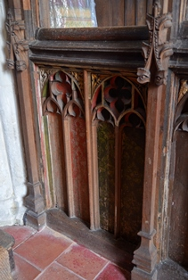 Great Livermere rood screen 2