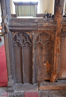Great Livermere rood screen