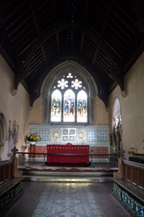 Harkstead chancel