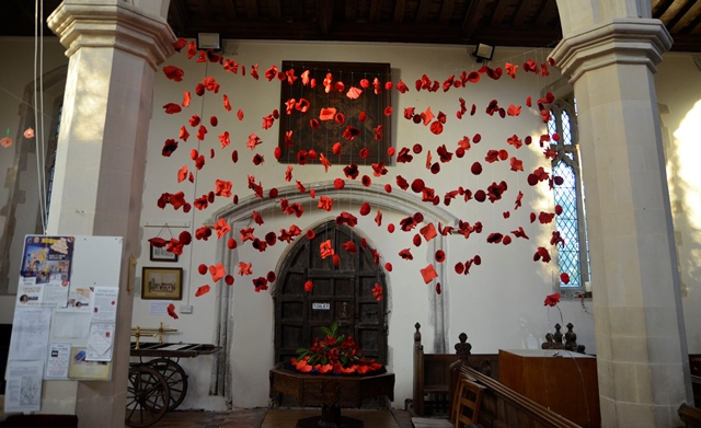 Stonham Aspal poppies