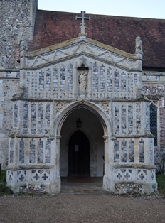 Huntingfield porch