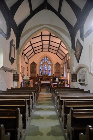 Thorington interior