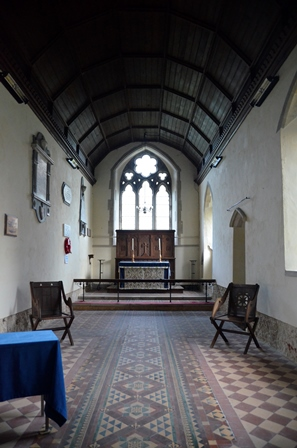 Walpole chancel
