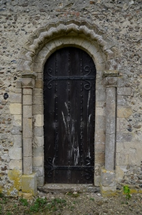 Bedfield doorway