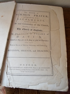 Newbourne book of prayer