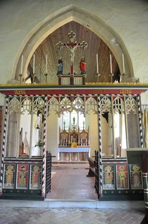 Kettlebaston rood screen