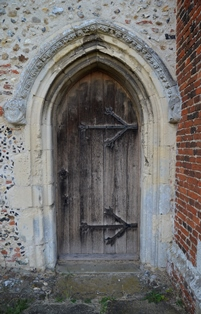 Capel St Mary door 2