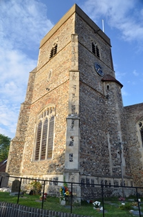 Capel St Mary tower