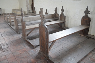 Icklingham All Saints benches 2