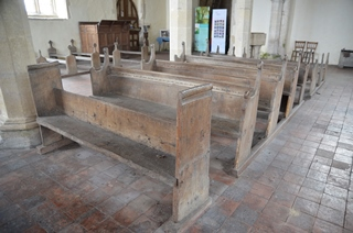 Icklingham All Saints benches