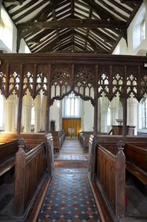 Withersfield chancel