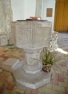 Withersfield font