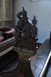Freckenham bench end 2