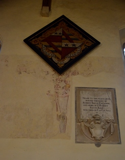 Redgrave wall painting