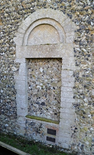 Baylham doorway